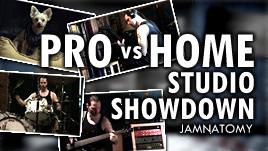 Pro Vs Home Studio Challenge