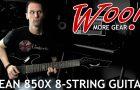 Dean 850x 8-String Guitar Review & Demo