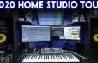 Home Studio Tour (2020) With Sound Booth